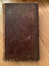 Antique Very Old Book Lebensgefchichte Berrn And Beilandes Jesu Christi