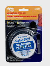 Alpha Fry SOLDERING PASTE Repair Flux Metal Cleaner Non-Electrical 2 oz. 51011