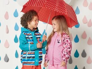 Kids' Girl Boy Waterproof Jacket Hood Lined Fleece 12 24 months 2 4 6 8 Years