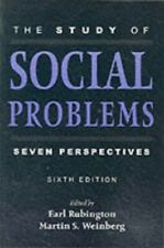 The Study of Social Problems: Seven Perspectives by Weinberg, Martin Paperback