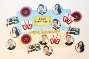 18 EDIBLE SPY NINJAS Cake Toppers, THICK Wafer Card, ~PRECISION-CUT~