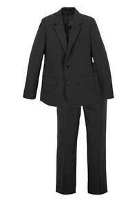 TOP festlicher 2-teiliger Anzug schwarz Gr. 158 Sakko und Hose NEU + OVP
