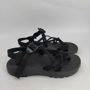 Chaco ZX 2 Sport Sandals- Womens- Size 9-  Black- Adjustable Buckle- Ankle Strap