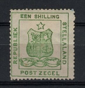 Stellaland 1 Sh. Een Shilling Buren-Republik Vryburg British Bechuanaland