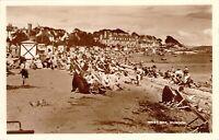 West Bay Dunoon Argyll Scotland Beach Scene Unused RPPC Real Photo Postcard