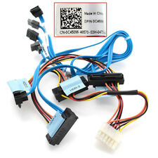 D FOR Dell PowerEdge R310 4-Drop Hard Drive SATA Data /Power Cable C450M 0C450M