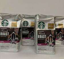 Starbucks French Roast Ground Coffee 4 12 oz Packages Dark Roast. BB MAR 2020