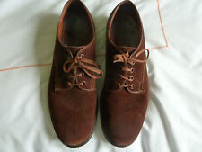 Mens Brown Lotus  Suede Shoes Size 8.5
