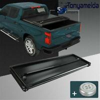 5 FT Short Bed Soft Tri-Fold Tonneau Cover Fits For 2019-2020 Ford Ranger Black