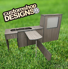 VW LWB T4 Transporter Camper Van Flat Pack Interior / Kitchen Unit / Furniture