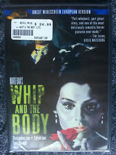 WHIP AND THE BODY - DVD REGION ALL - Christopher Lee - Uncut European Version