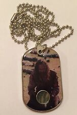 Farmyard Walkers The Walking Dead Season 3 Costume Dog Tag Relic #CR14