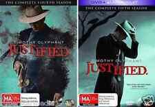 Justified Series Season 4 & 5 : NEW DVD