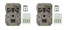 (2) Moultrie A-700i Scouting Trail Cam  Security Camera 16MP Batteries + SD Card