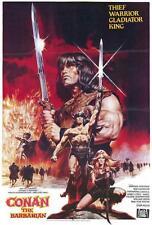 Conan the Barbarian Movie POSTER 27 x 40 Arnold Schwarzenegger, B, LICENSED NEW