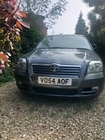 2004 Toyota Avensis T3-X 2.0 D-4D 5dr Hatchback Diesel Manual spares or repairs