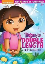 Dora the Explorer - Dora's Double Length Adventures New DVD.free shipping