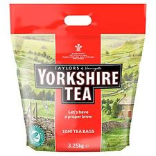 Yorkshire Tea Bags 3.25 Kg 1040 tea bags