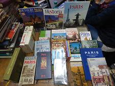lot de 24 livres sur Paris