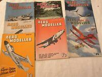 Aero Modeller Magazine (choose from) July 1956 to Nov 1961
