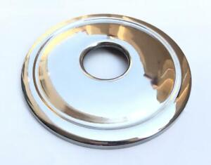 CLASSIC / VINTAGE MOTORCYCLE HUB COVER STAINLESS 8 A7/A10(42-5843)
