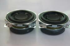 "2pcs 2""inch 52MM 8ohm 10W full-range speaker Neodymium external magnetic DIY"