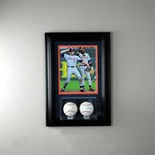 Baseball Two Display Case with 8x10 Photo Free Shipping
