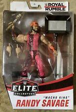 WWE Elite Royal Rumble Macho Man King Randy Savage MIP!