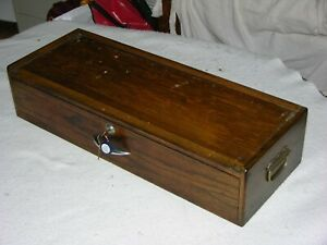 "Gerstner Style B26 Base, Holds 26"" Wide Chests Like 52 Journeyman, Oak, 2 Keys"