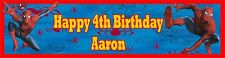 Paper Spider-Man Party Banners, Buntings & Garlands