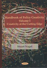 Handbook of Policy Creativity: Creativity at the Cutting Edge v. 1: Creativity a