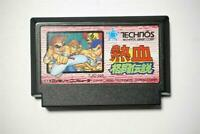 Famicom Nekketsu Kakuto Densetsu Fighting Legend Japan FC game US Seller