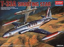 Nuevo 1:48 12284 Academia Lockheed T-33A Shooting Star Edición Limitada importación