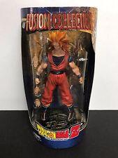 GOKU Super Saiyan 3 Goku Dragonball Z 2002 DBZ Fusion Collection action figure