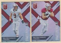 2018 PANINI ELITE DRAFT PICKS RC   VARIATION & BASE  Dalton Schultz   Cowboys