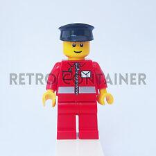 LEGO Minifigures - 1x post010 - Postman - Postino Town Omino Minifig Set 9348