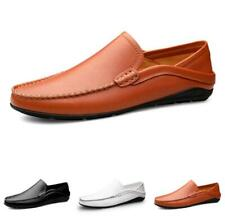 Mens Leisure Faux Leather Shoes Driving Moccasins Business Soft Breathable New L