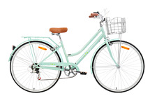 Cyclops 700c Ladies Vintage Bike Mint Green