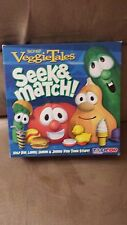 Veggie Tales Seek and Match Board Game -