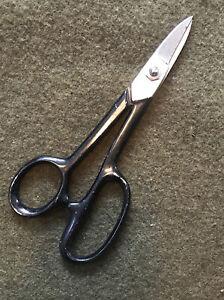 USA Light Metal Shears Clauss Scissors Shears 4877 USA vintage. Nice!