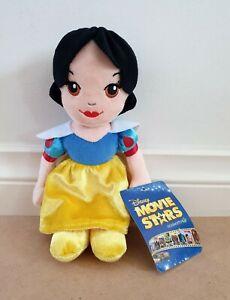 Disney Movie Stars Princess Snow White & The 7 Dwarves Snow White 21cm Plush Toy