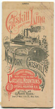 1892 Catskill Evening Line Steamers Timetable