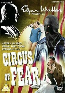 Psycho-Circus DVD Circus of Fear - Movie 1966 Christopher Lee, Leo Genn