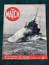 """Graf Spee Sunk - French """"Black"""" Africa Army - 1939 WW II French Magazine """"MATCH"""""""