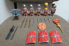 Playmobil - Roma - Soldados Oficial Romanos con Ballesta - 4271 - (COMPLETO)