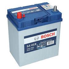 Bosch S4 019 12V 40Ah 330 A EN Autobatterie Starterbatterie ersetzt 35Ah 45Ah
