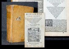 1556 Mystik Spiritualität Tauler Johannes Opuscula tractatus sermones