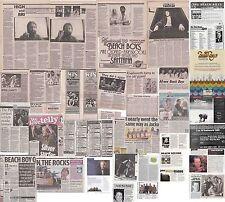 Clippings/Cuttings/Article The Beach Boys Memorabilia
