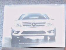 L@@K 2008 Mercedes-Benz C-Class Brochure NEW