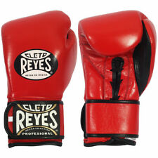 Cleto Reyes Training Boxing Sparring Gloves Red Pure Leather Free Shipping